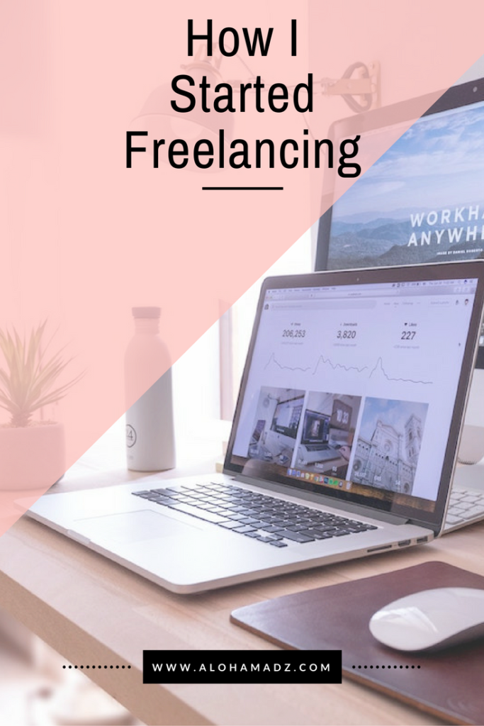how I started freelancing